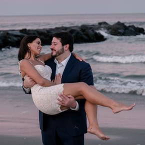 Engagement photographers nj at Jack Baker's Lobster Shanty Sunset Ballroom EWTR-18